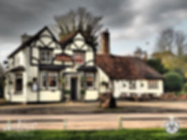 The Three Horseshoes Pub, Letchmore Heath, Radlett, Hertfordshire