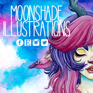 moonshade illustrations @ SunnyCon 2020