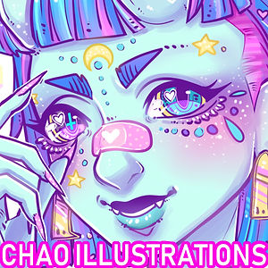 Chao Illustrations @SunnyCon 2020