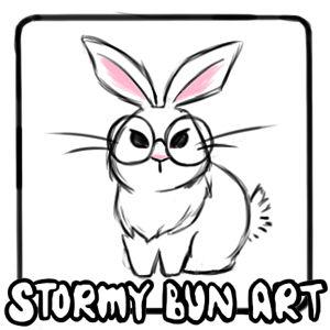 Stormy Bun Art @ SunnyCon 2020