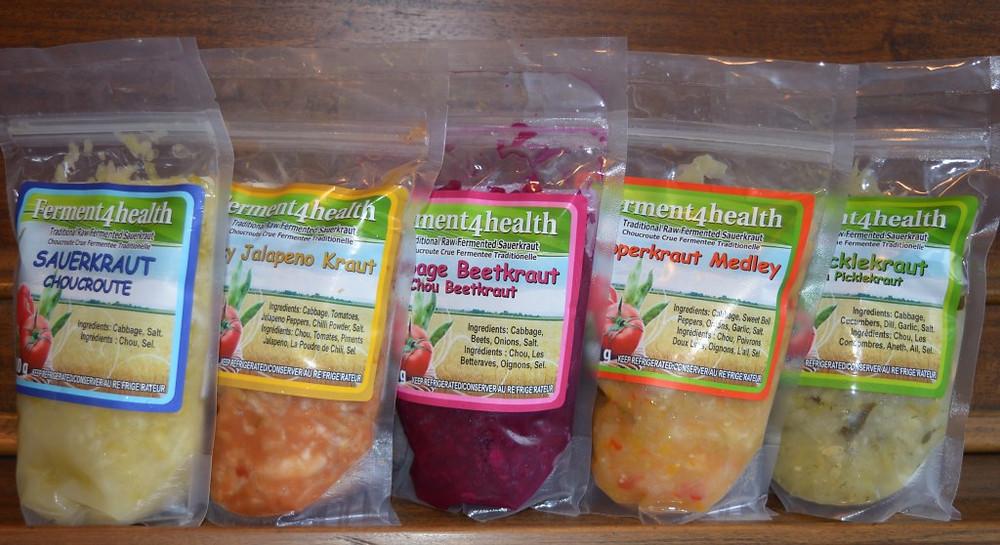 Ferment4health Sauerkraut