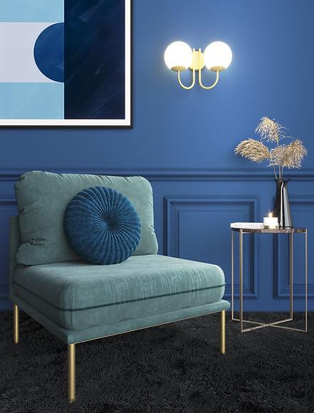 01 La couleur Pantone 2020 Bleu Classiqu