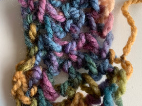 Finger Knitting & Fiber Arts: Adolescents with Complex Trauma