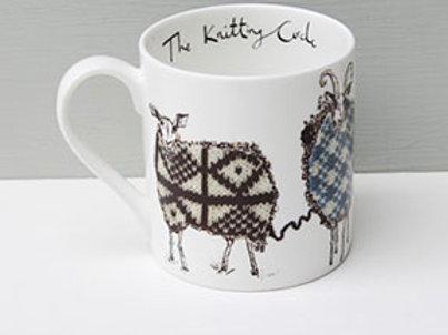 Anna Wright The Knitting Circle Mug