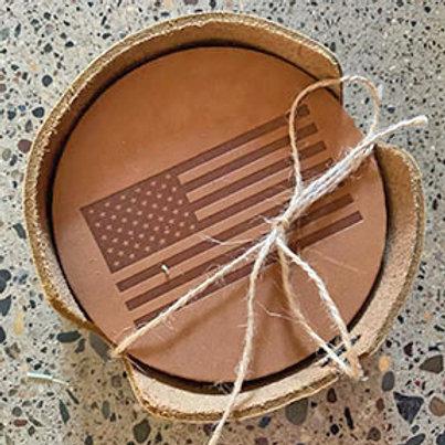 Oowee Leather Coasters