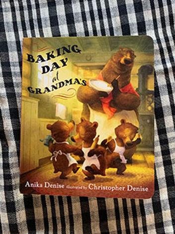 Baking Day at Grandma's Book