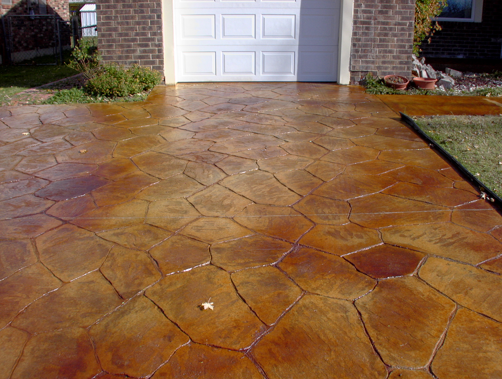 Verona Italian Flagstone Stamped Co