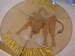 Inola Longhorn Stained design