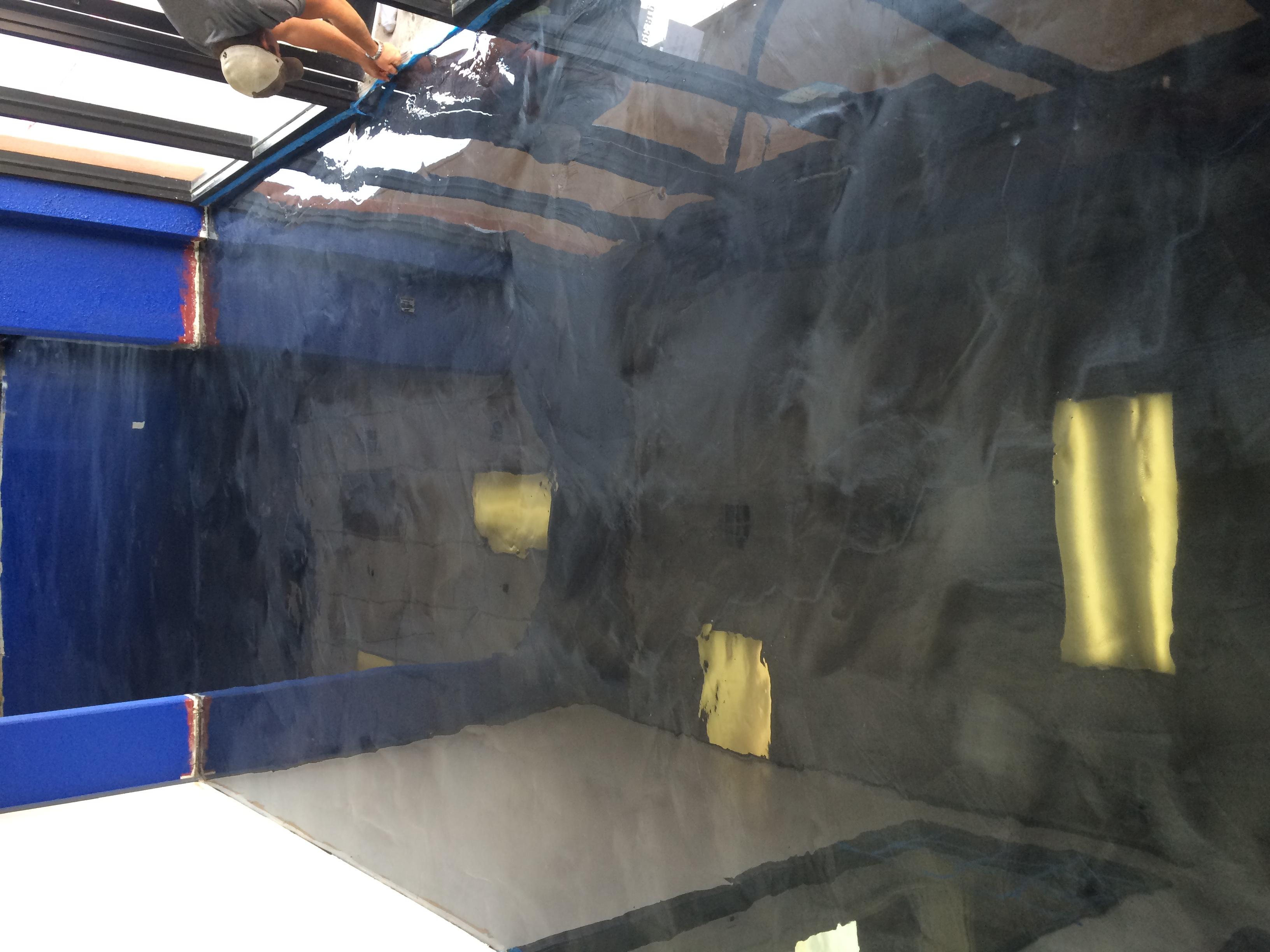 Titanium Epoxy Floor