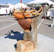Concrete Elk Head