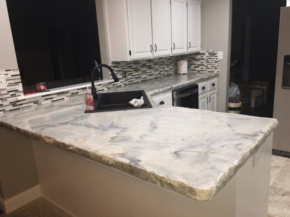Pearl Concrete Countertop