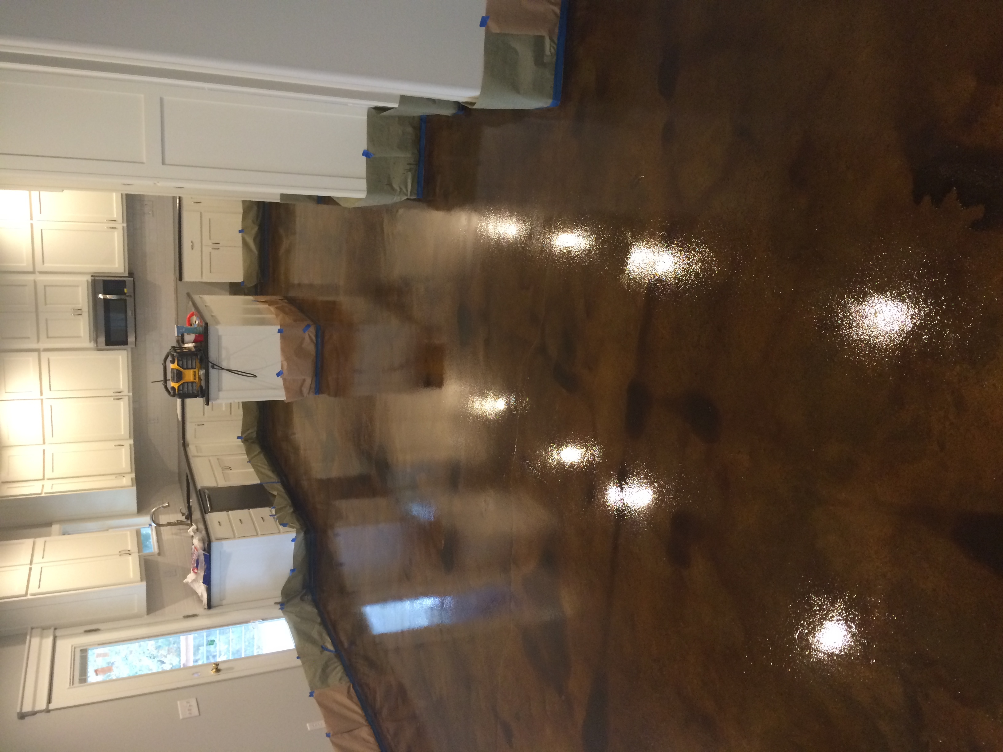Brown Epoxy Floor