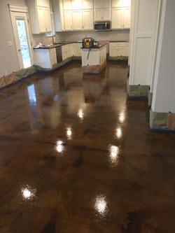 Brown Epoxy Floor