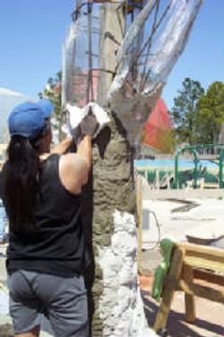 Building a concrete tree