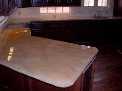 Concrete Counter Top Kitchen