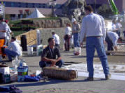 Vertical Stamped Concrete Training