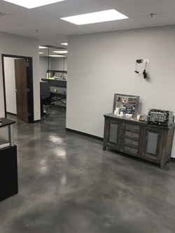 Gray Stained Concrete