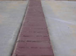 Concrete Brick Border