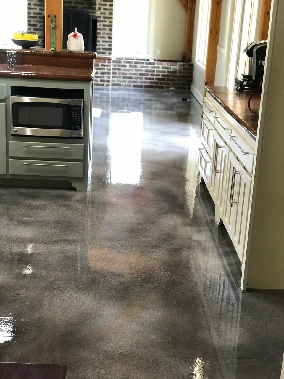 Stained Concrete Flooring Tulsa