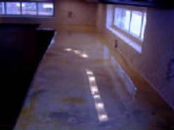Multi Colored Epoxy Floor