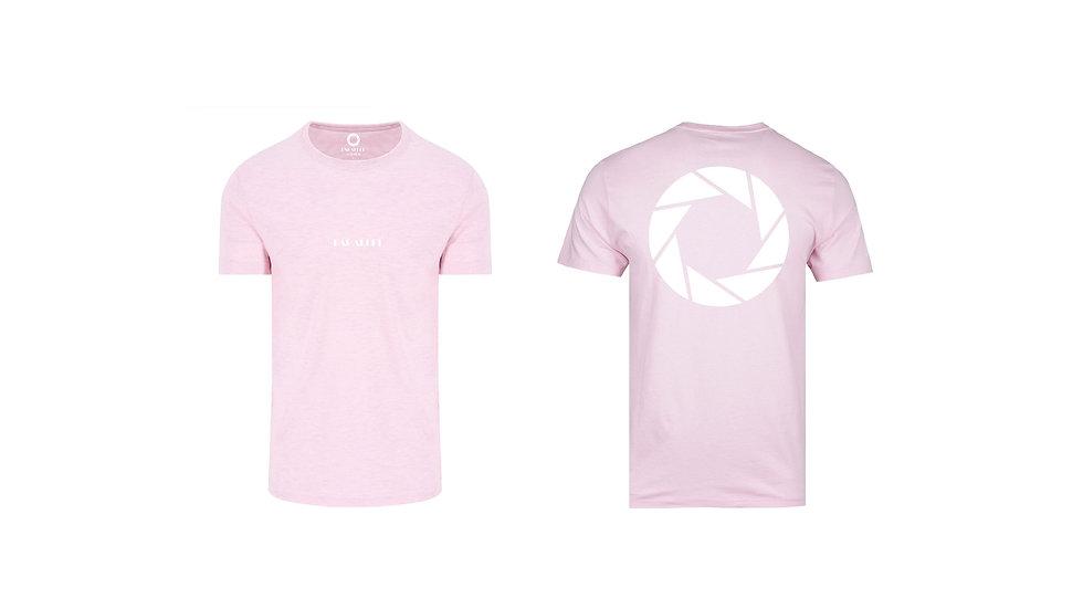 Parallel - Aperture Logo T-shirt (Baby Pink)