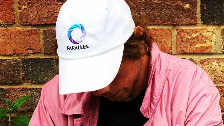 Parallel - Aperture Dad Cap (White)