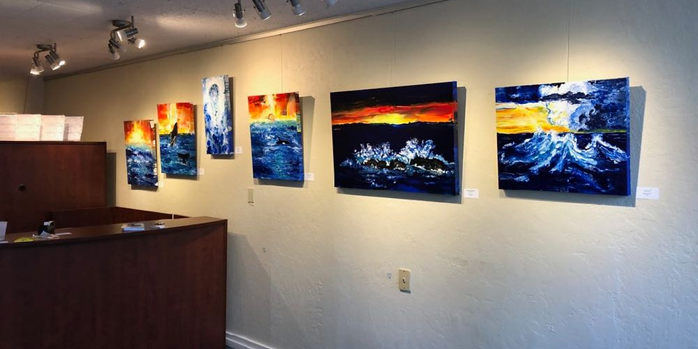 FEATURED ARTIST AT COLDWELL BANKERS IN PORT TOWNSEND, WA