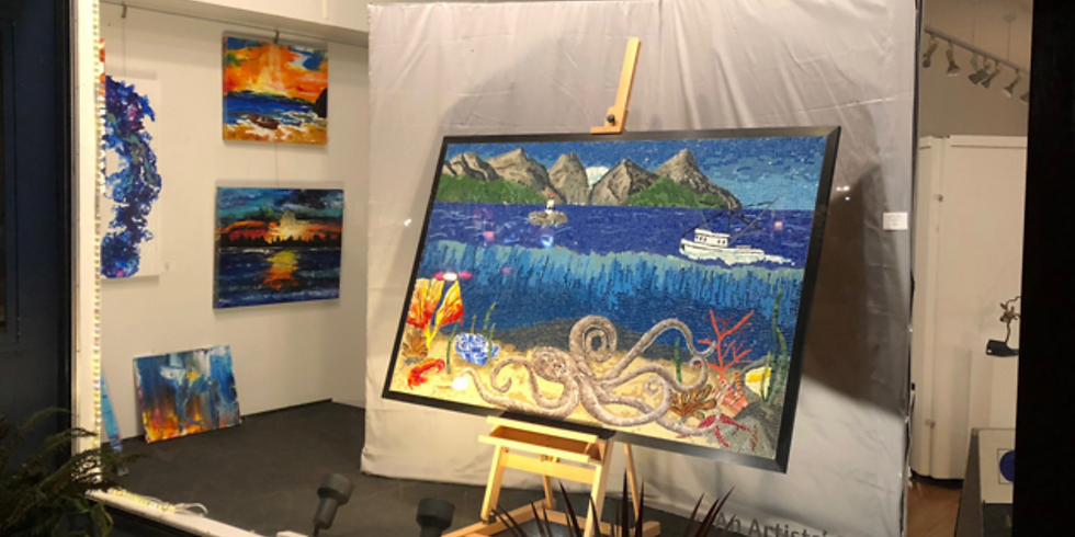 FEATURED ARTIST AT THE BLUE WHOLE GALLERY IN SEQUIM