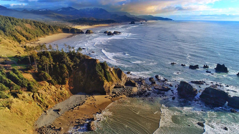 ECOLA STATE PARK - CANNON BEACH