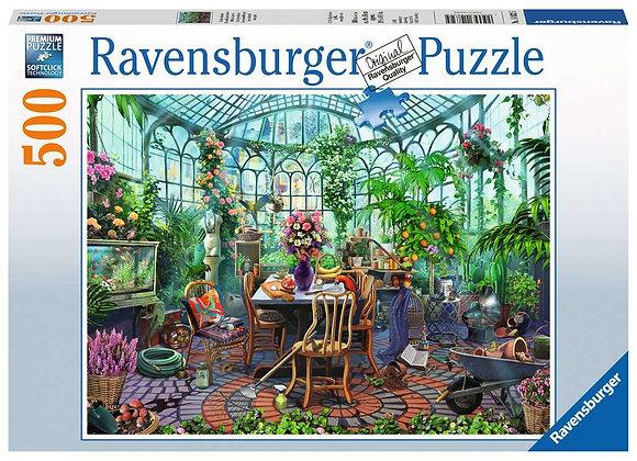 Greenhouse Mornings