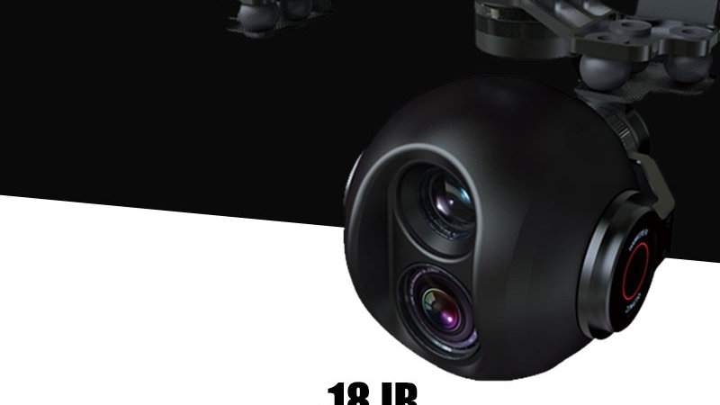 18X RGB IR Zoom Camera