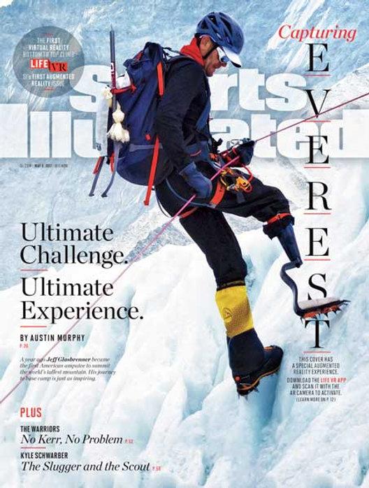 Sports Illustrated Capturing Everest