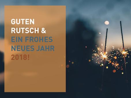 GUTEN RUTSCH & FROHES NEUES JAHR