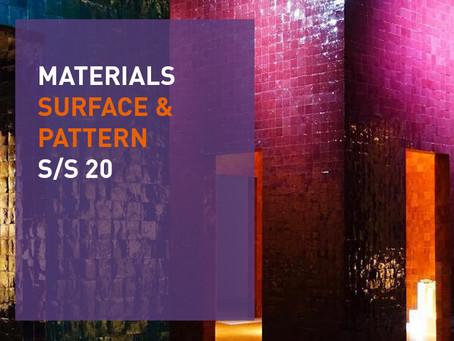 Materials S/S 20