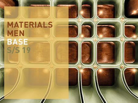 Materials Men Base S/S 19