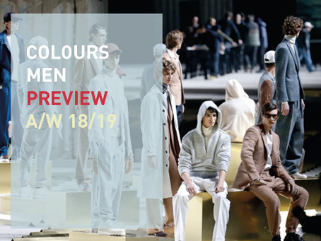 COLOUR MEN PREVIEW A/W 18/19