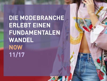 Die Modebranche im Wandel
