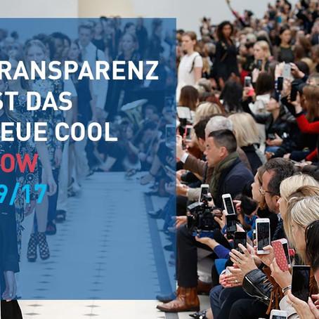 Transparenz ist das neue Cool