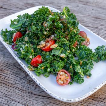 Kale + Quinoa
