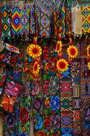 Arte Huichol (México)
