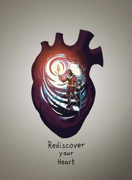 Objav zas svoje srdce!
