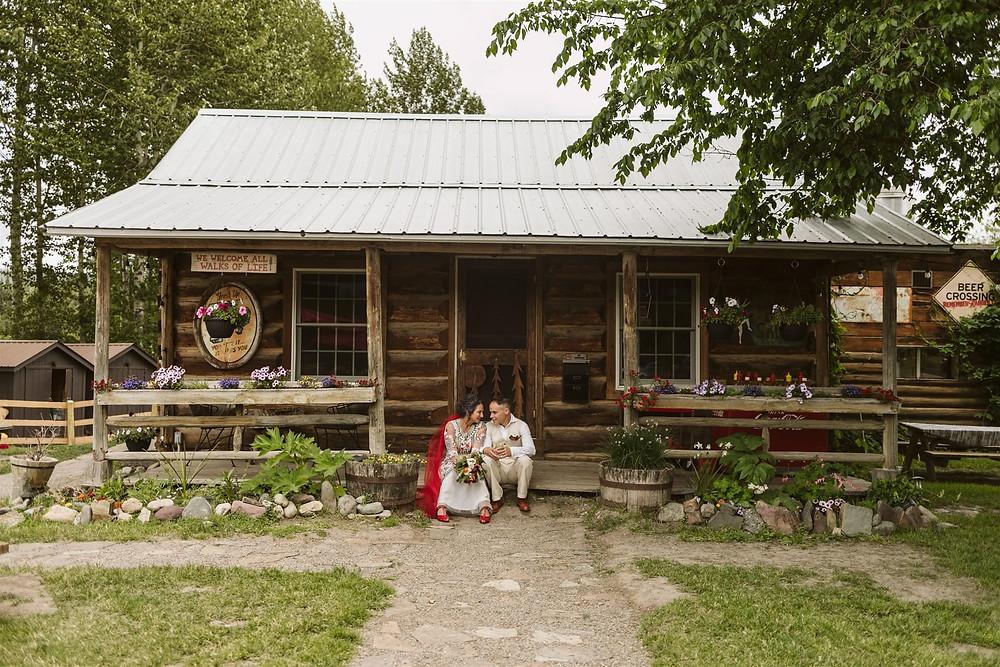 Polebridge Montana Elopement