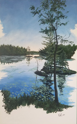 """""""Islands of Stoney Lake #1"""" (Not Available)"""