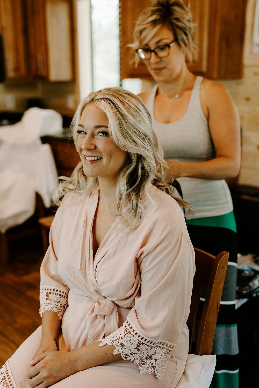 Elopement Hair and Makeup