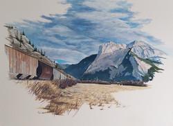 Mountain Pass #1