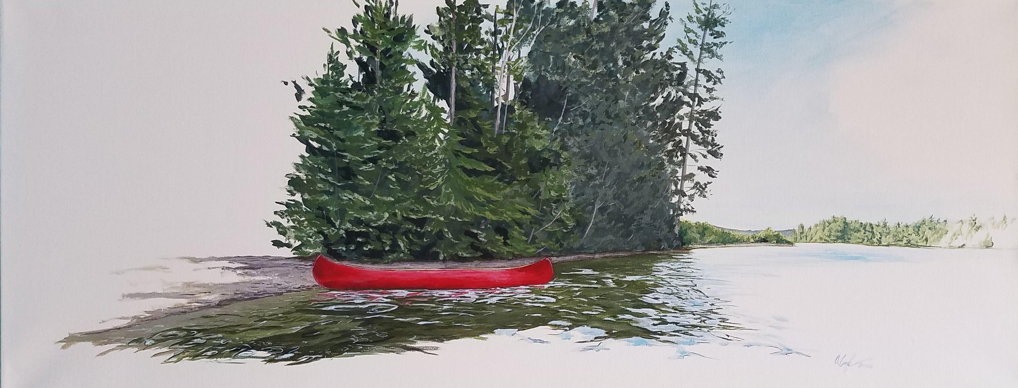 Resting Canoe #2
