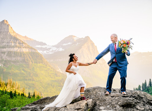 How to Elope in Glacier National Park