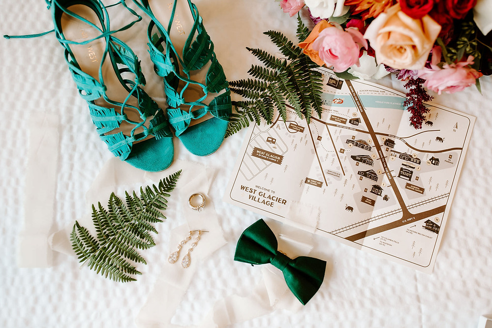 Glacier National Park Wedding Details