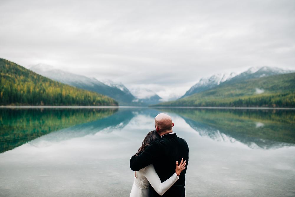 Bowman Lake Elopement - Glacier National Park, MT