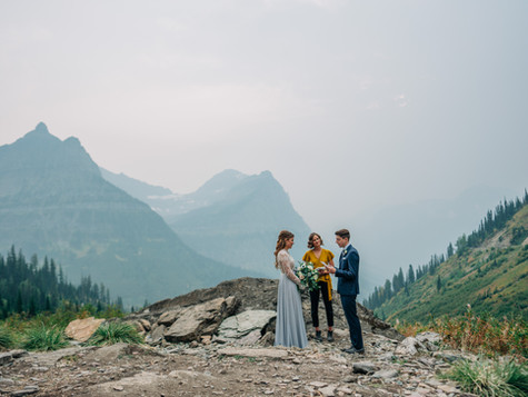 An Epic Smoky Montana Elopement